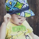 Cap kids blue green