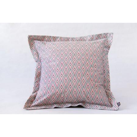 Square cushion cover inception ecru wool