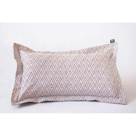 Cojín rectangular inception lana crudo
