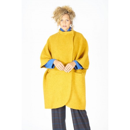3/4 ocher coat Emmy
