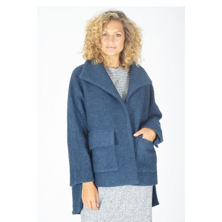 Blue jacket Roseli