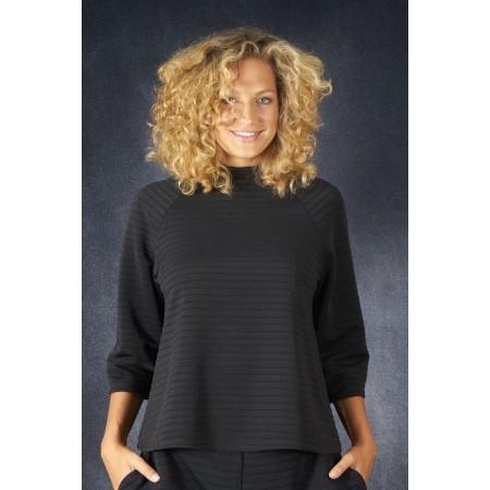 Suéter negro multipunto Tania