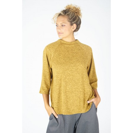 Ocher sweater Tania