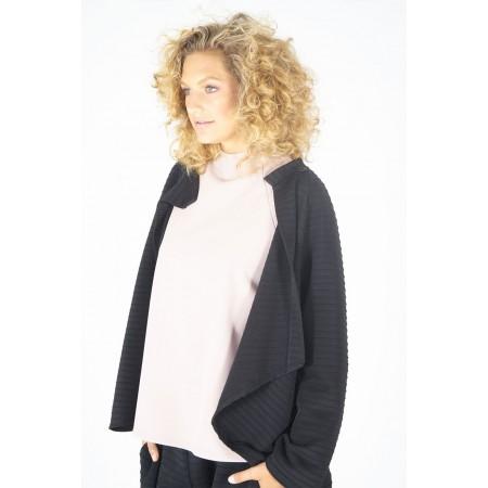Jaqueta negra multipunt Jane