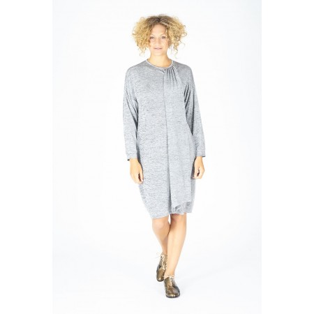 gray knit Dress Zulema