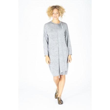 Vestido gris Perales