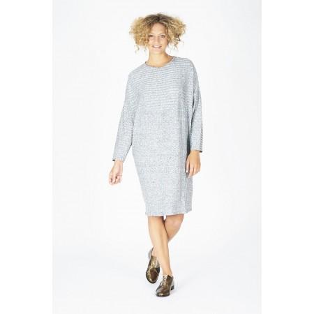 Vestido Mirta plata