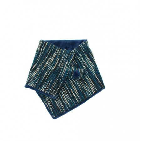 Buff de rayas azul Liv