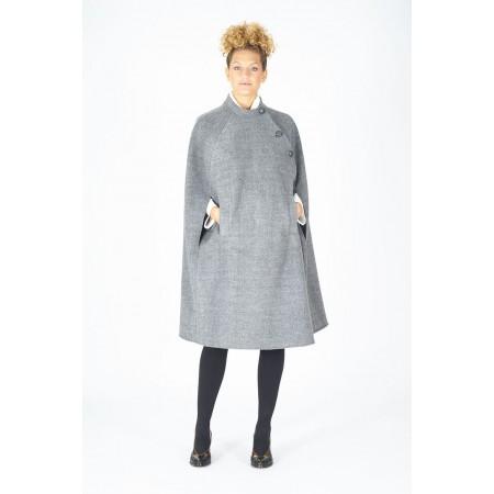 Grey cloth coat Augusta