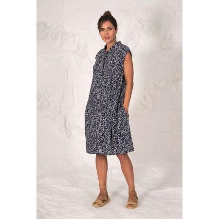 Blue Print Dress Fontana