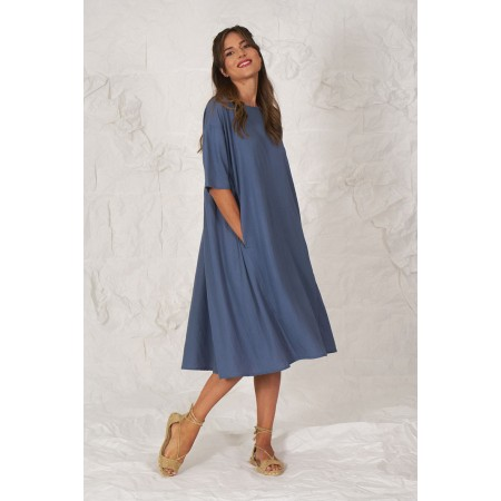 Vestido azul Camille