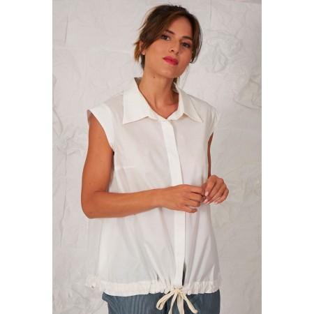 Blusa blanca Blanchard