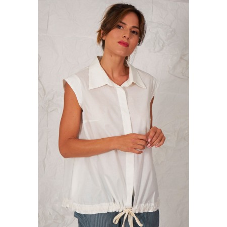 White blouse Blanchard
