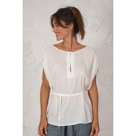 Blusa blanca Guda