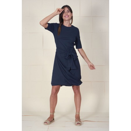 Vestido azul Herrada