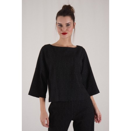 Diplomatic Stripe Blouse Baker