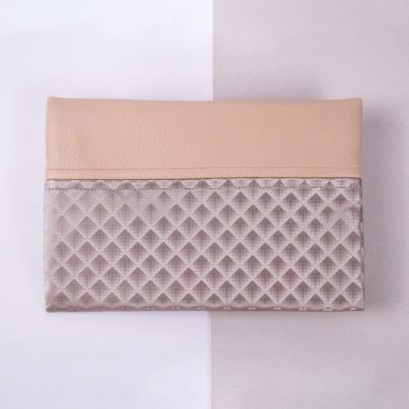 Necesser rectangular de pell sintètica Dona Kolors