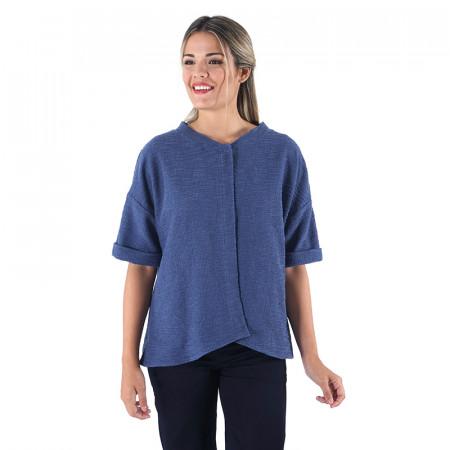 Jaqueta blava Dona Kolors