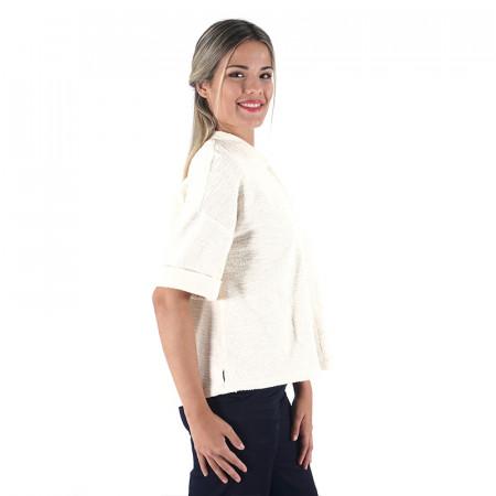 Raw rustic cotton blazer Dona Kolors