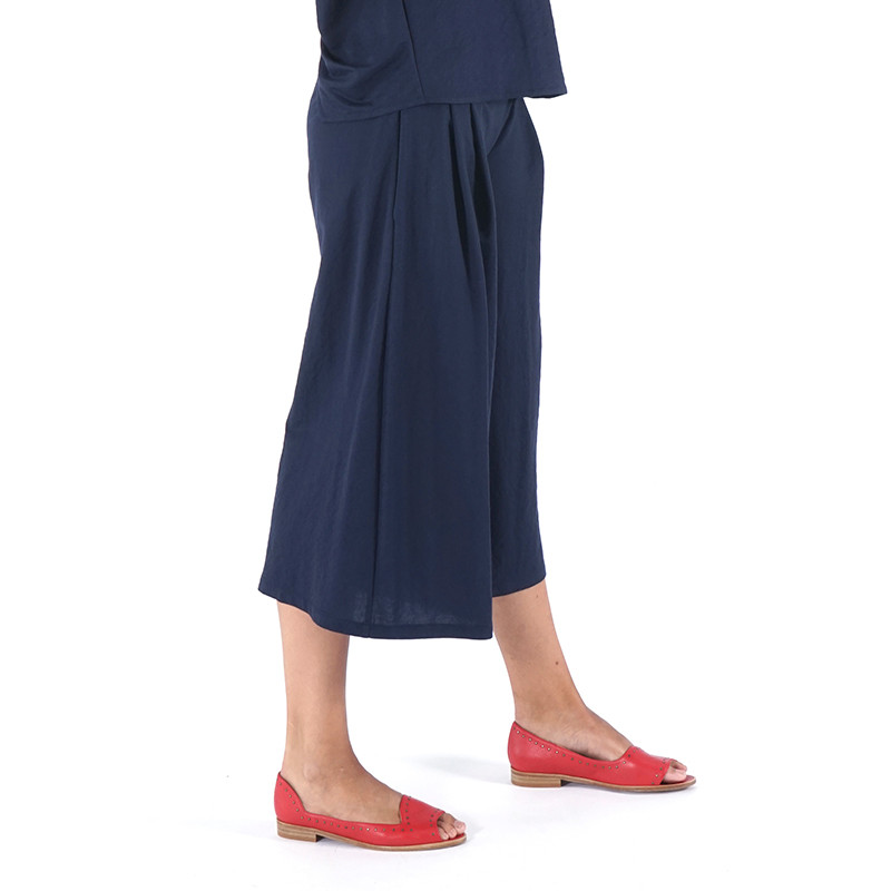 Blue navy palazzo pants Dona Kolors