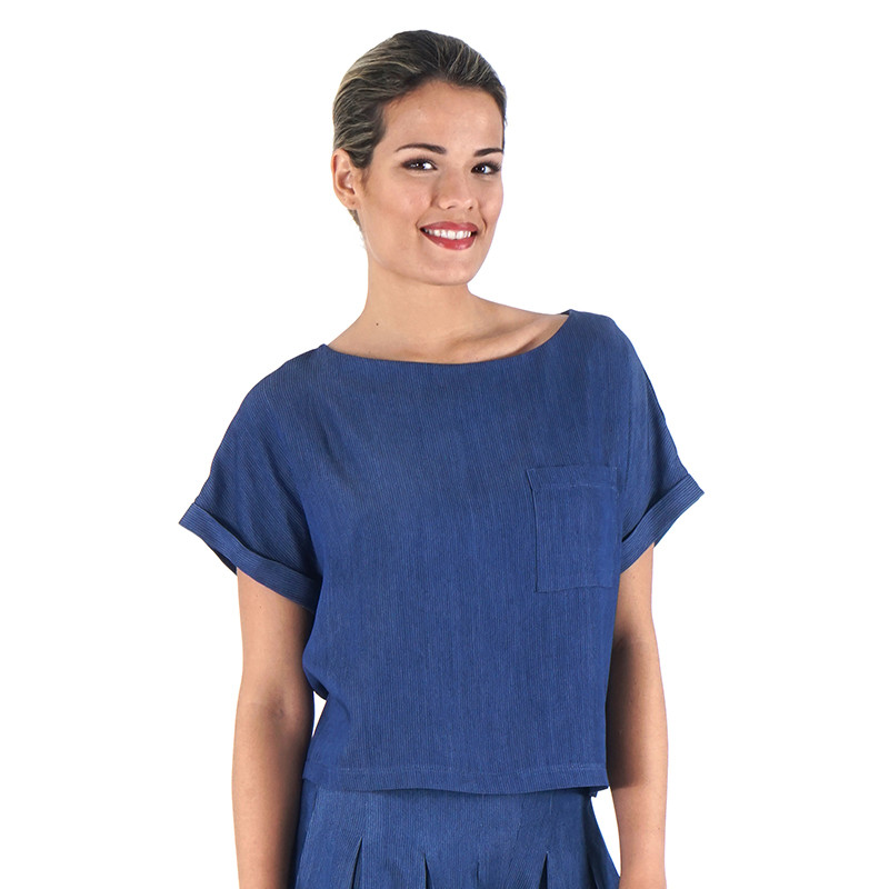 Blusa cly mil rayas