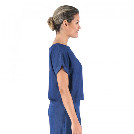 Blusa cly mil rayas azules