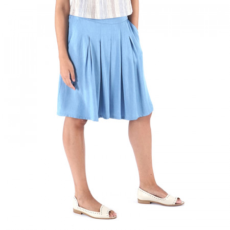 Light blue cly pants Almudena