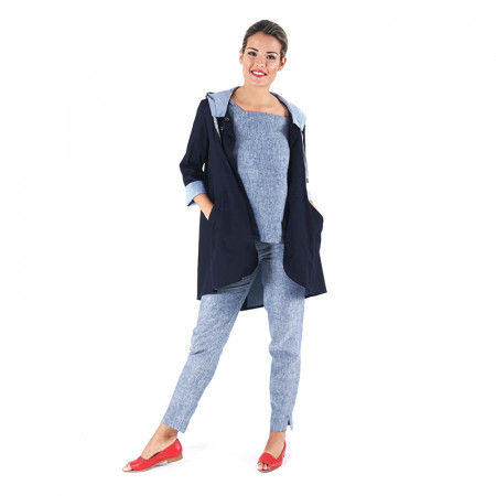 Blue navy raincoat Ferrer 20