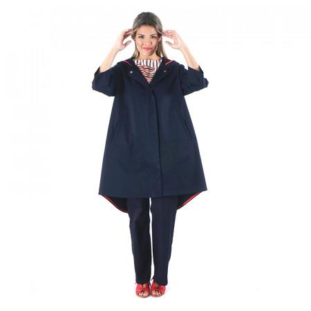 Blue navy raincoat Medel LG
