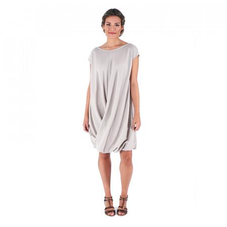 Beige knit dress Loreto