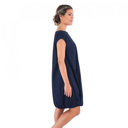 Vestido azul marino de punto Dona Kolors