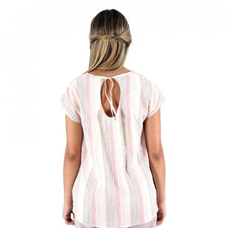 Red striped blouse Noni
