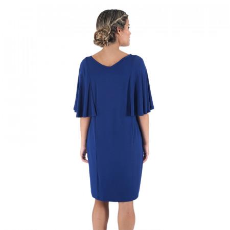 Vestit blau/pedra de punt Dona Kolors