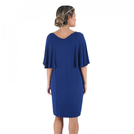 Vestido azul/piedra de punto Dona Kolors
