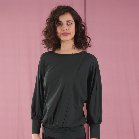 Green blouse Febe