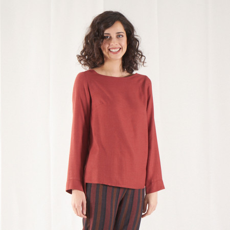 Tile blouse Fuva