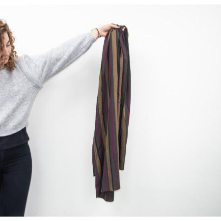 Striped foulard Dalia