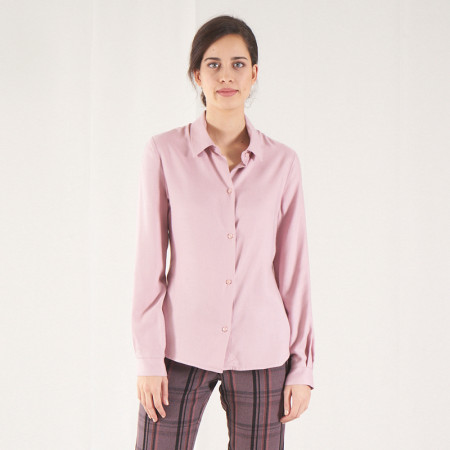 Pink blouse Hapuc