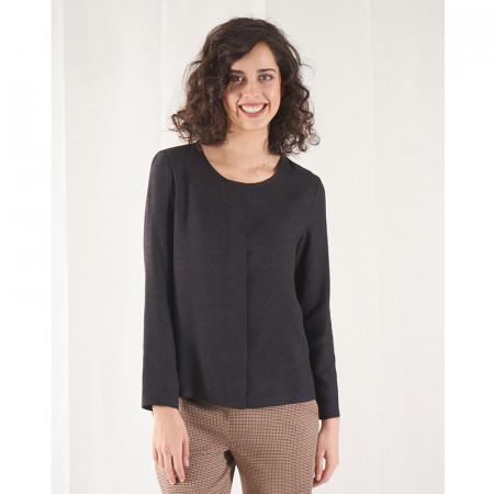 Grey blouse Hulsa
