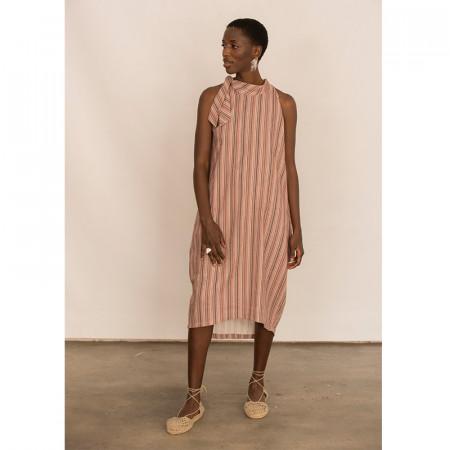 Pink stripe dress Bless