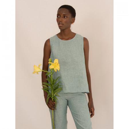 Mint blouse Echo