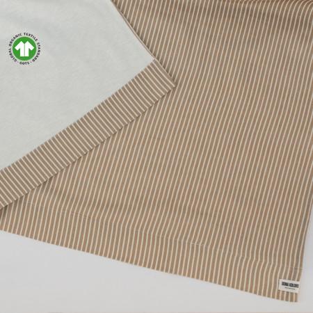 Tovallola de platja de cotó certificat GOTS i lli Dona Kolors